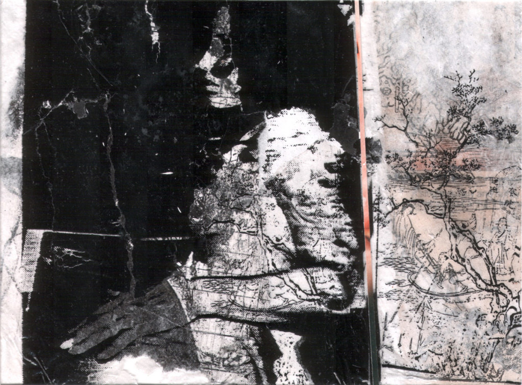 André Werner, untitled, collage, 1992