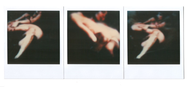 Andre-Werner-trypticuntitled (two girls), polaroid SX 70 triptych, ca. 1991h-two-girls-polaroid-SX70-ca-1991-full