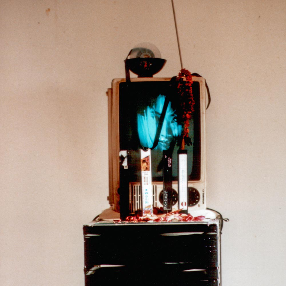 André Werner | Geisterhaeuschen (spirit house) video installation, ca 1993