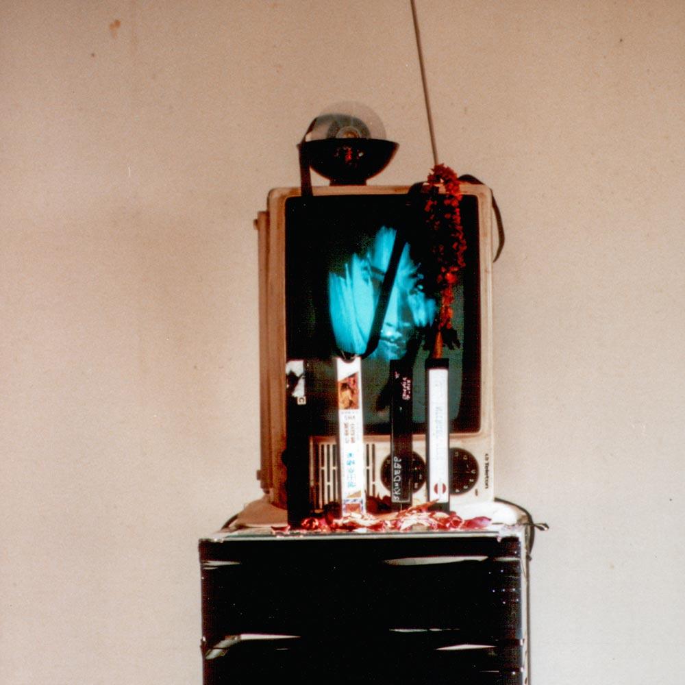 André Werner | Geisterhaeuschen (spirit house) video installation, ca 1993