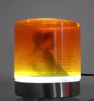 André Werner   Honey object, Burjatenmaedchen (Die freie Liebe)