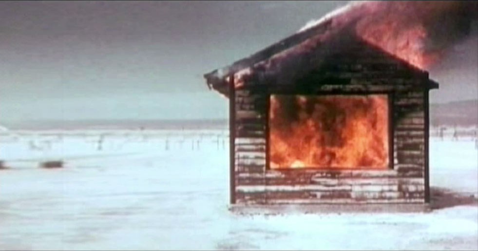 Mannaka No Ie (The House In The Middle) by André Werner, 2006. Video still