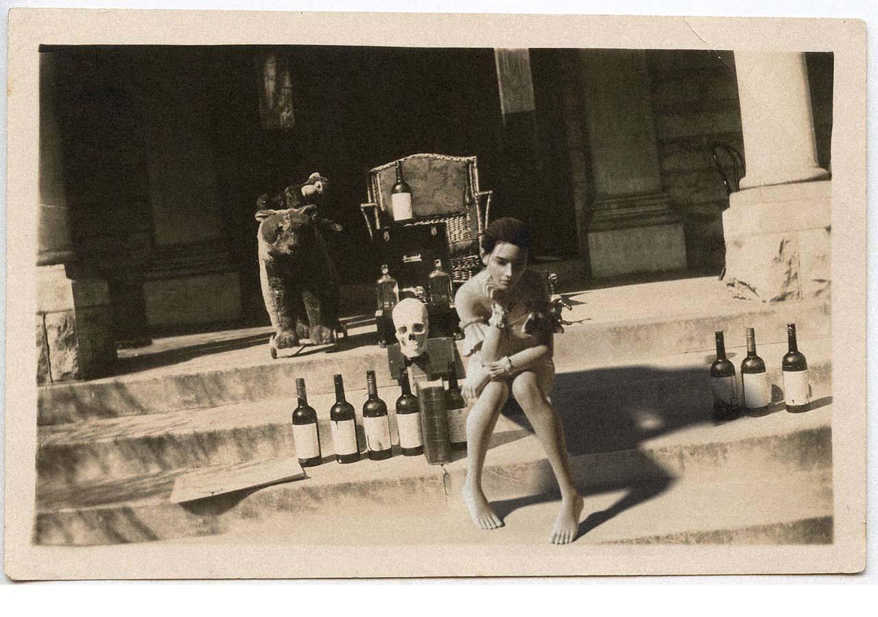 Felina Schrödinger. Ort und Datum dieser Photographie sind bisher nicht verifizierbar.