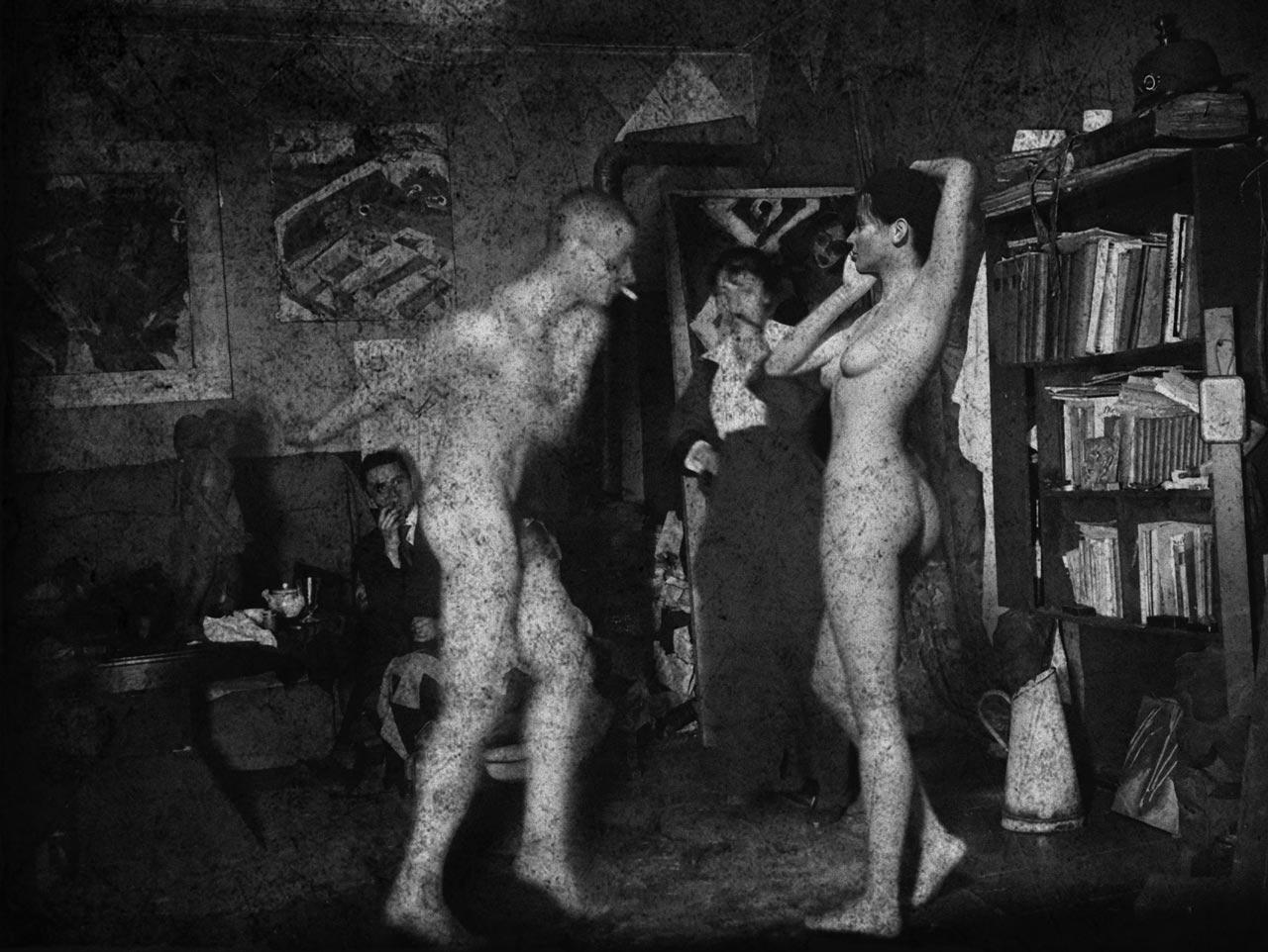 Im Atelier von Ernst Kirchner
