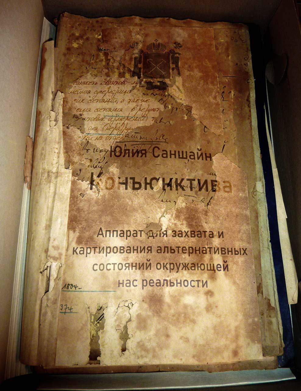 Der Patentantrag von Yuliya Sanshayn für einen