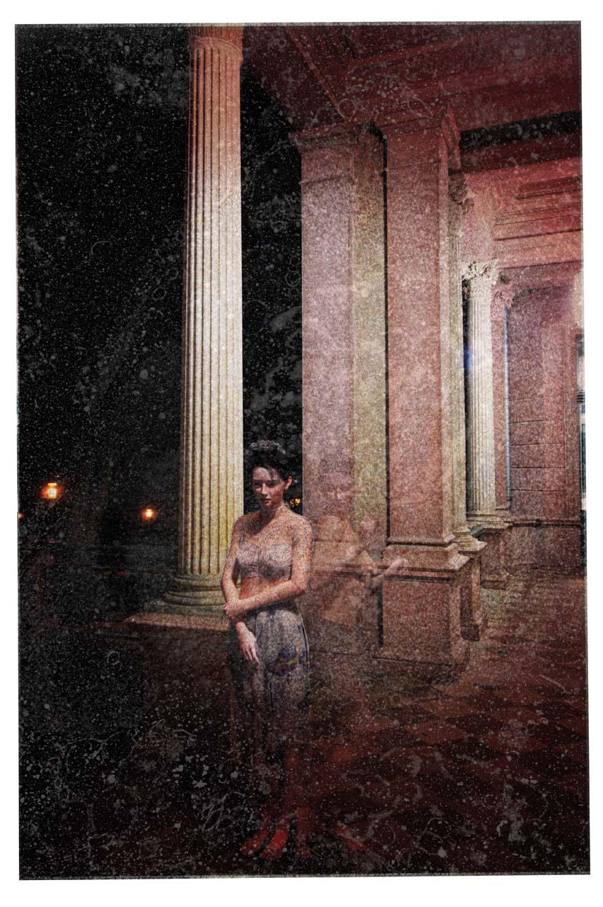 Felina Schrödinger, Schloss Biesdorf, Autochrome, undatiert. Courtesy Collection Claire Castelle.