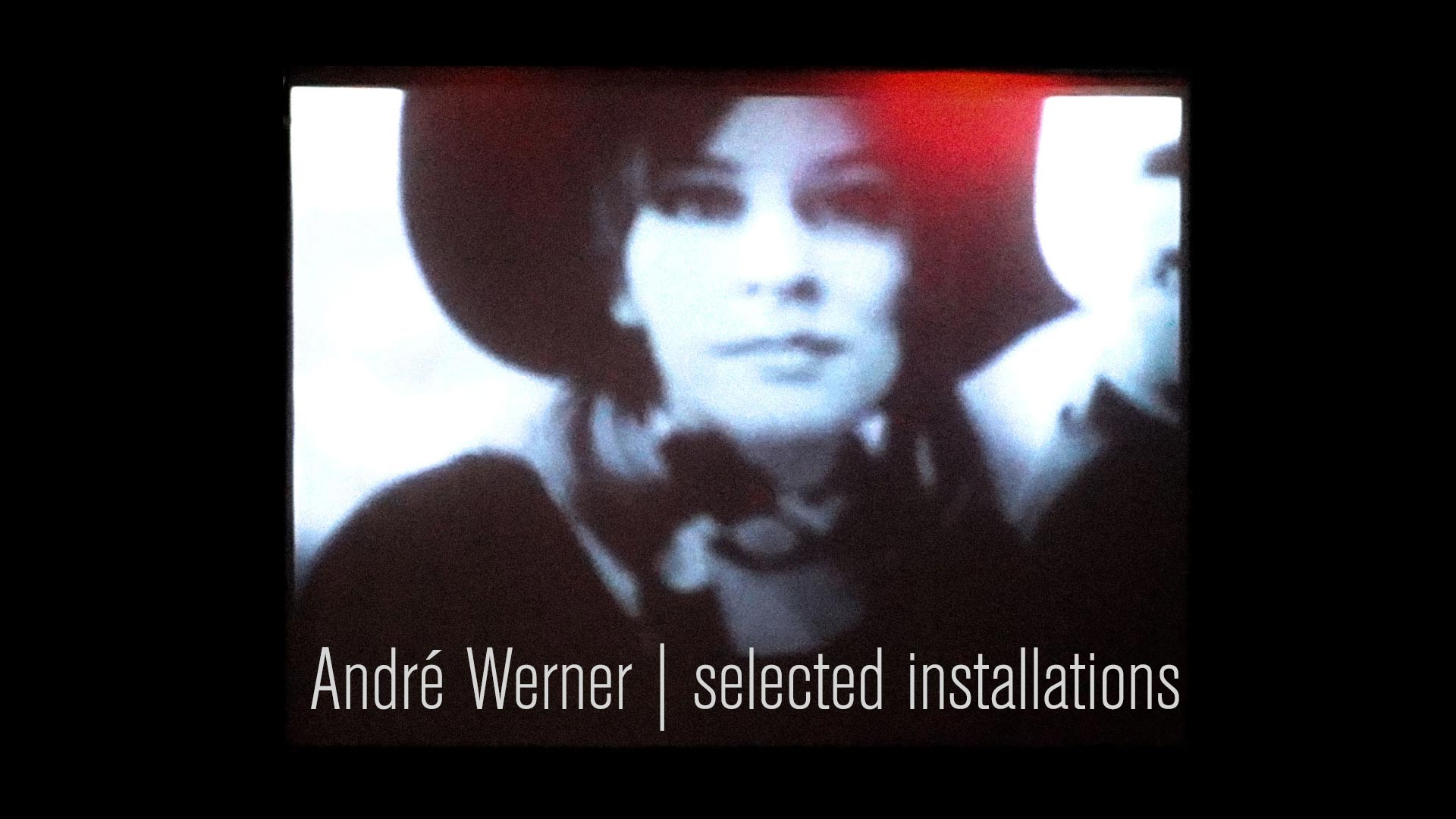 André Werner | selected installations. A short documentary featuring selected art works by André Werner.
